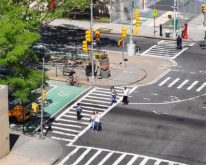 Ejemplo de concepto Complete Streets en Nueva York