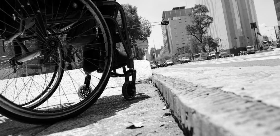 Estudio de Accesibilidad en vía urbana.