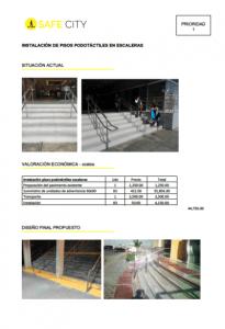 Diseño Universal expresada en una Ficha de Actuación Valorada