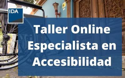 Taller Online Especialista en Accesibilidad
