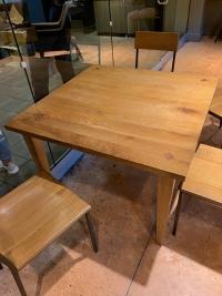 mesa accesible en Starbucks
